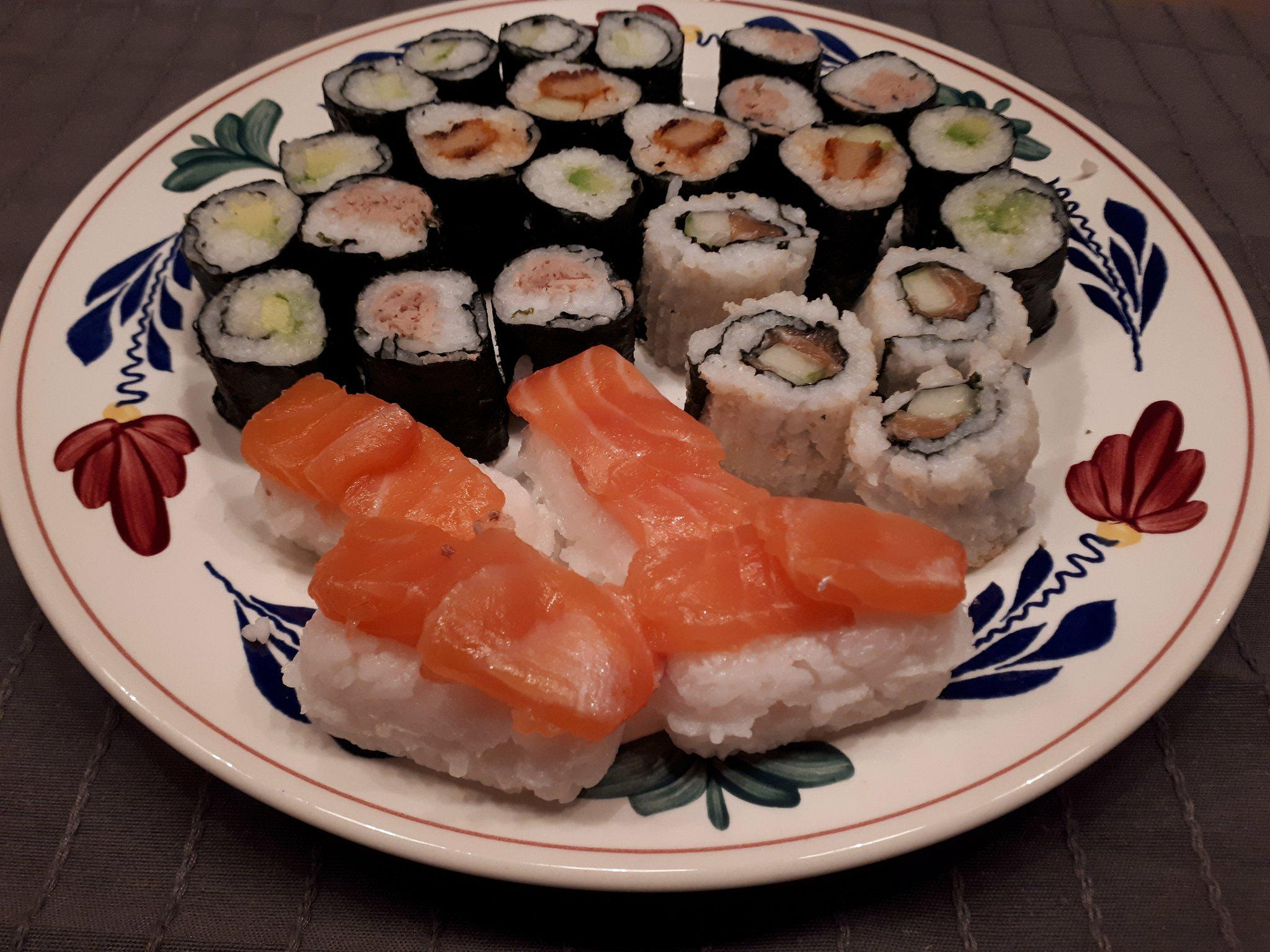 Sushi maken zelf
