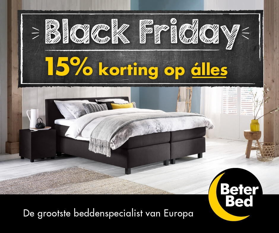 black friday beter bed