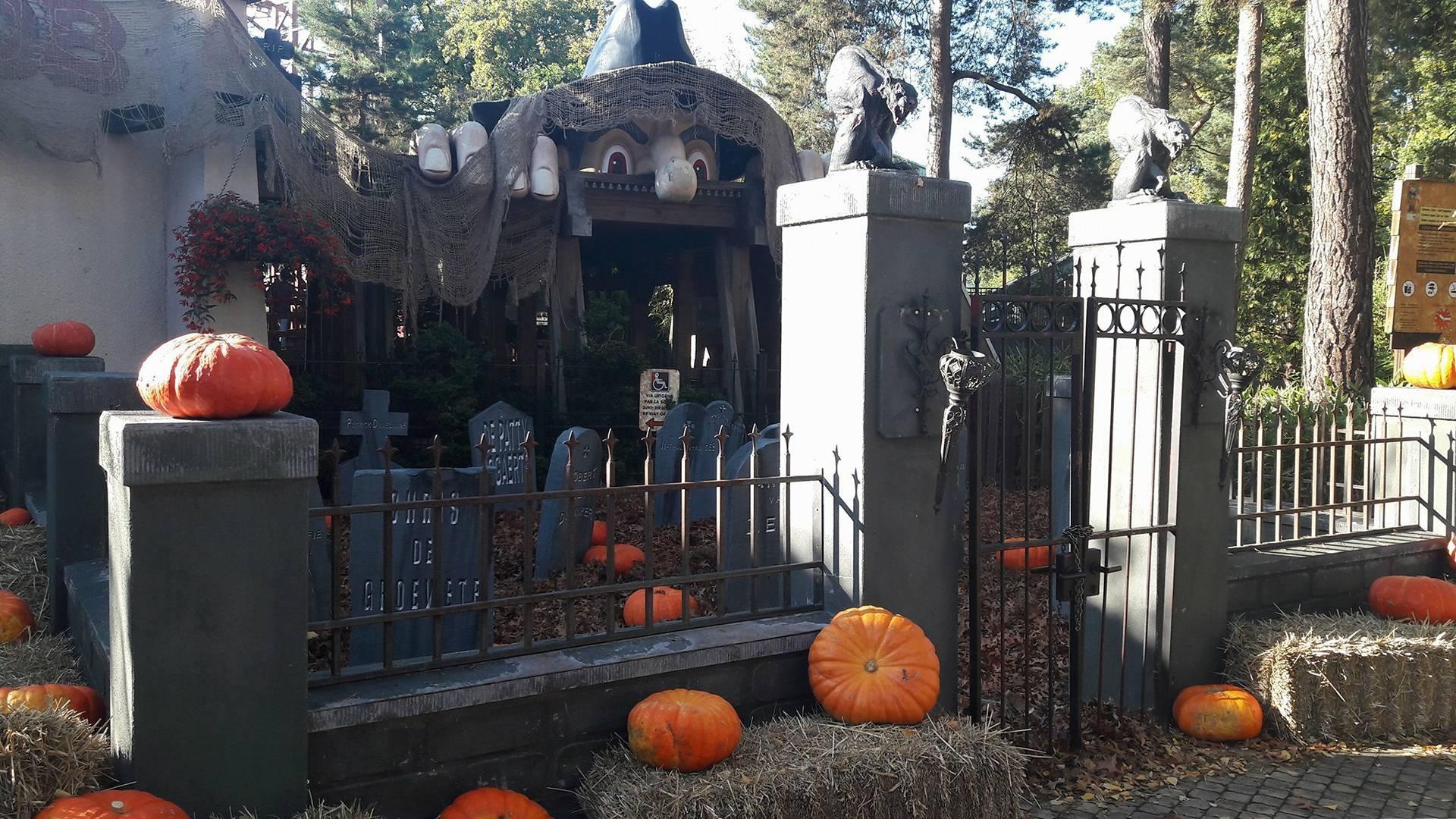 vakantieveilingen Bobbejaanland Halloween