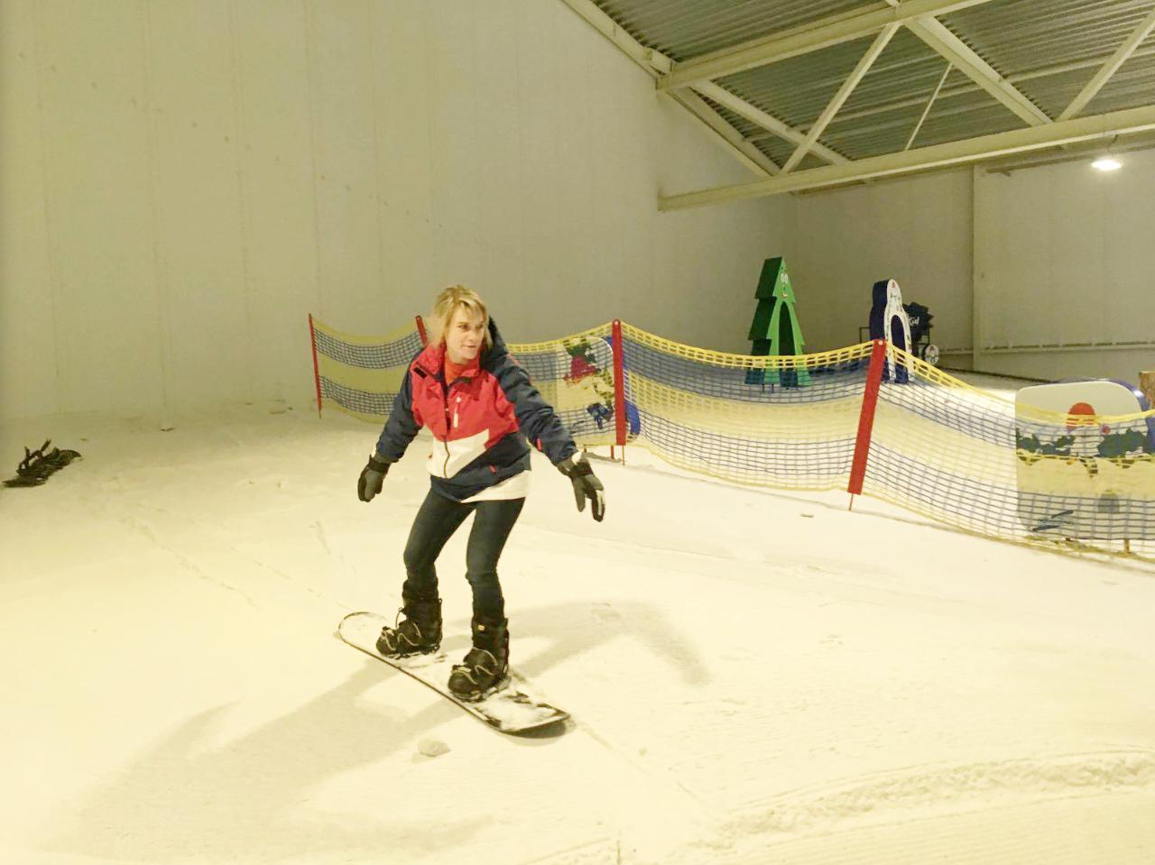 lieke yvonne snowboarden