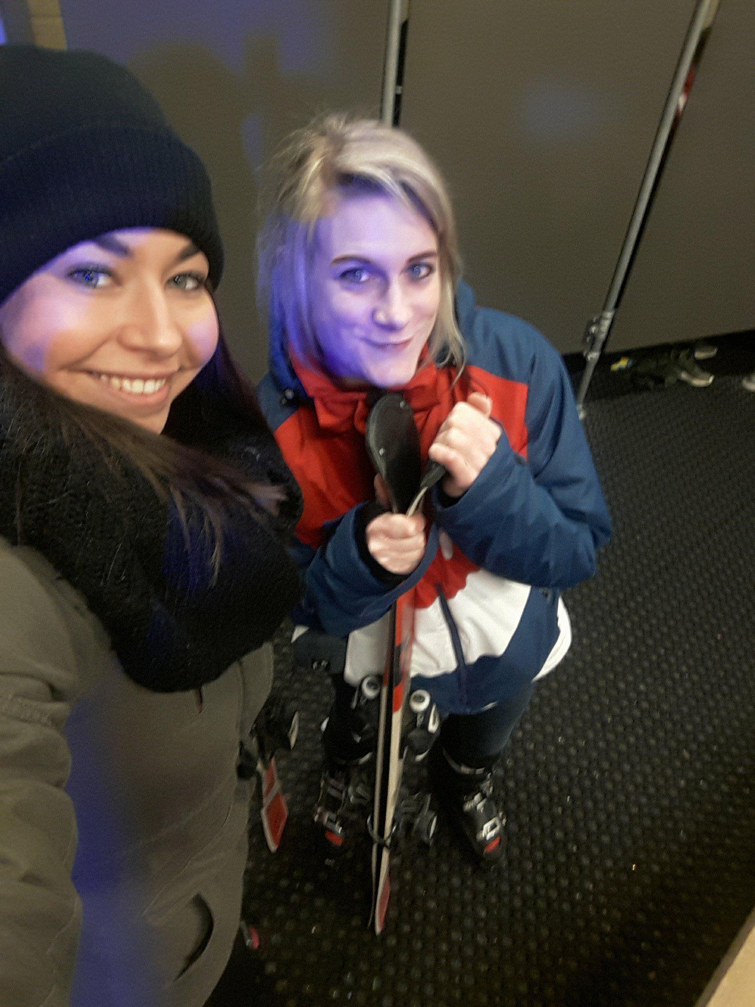 Lieke Yvonne skien snowboarden