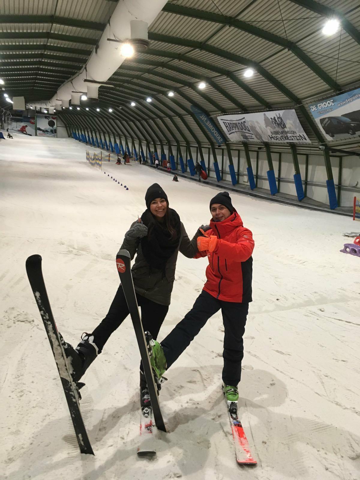 Yvonne Bierings skien