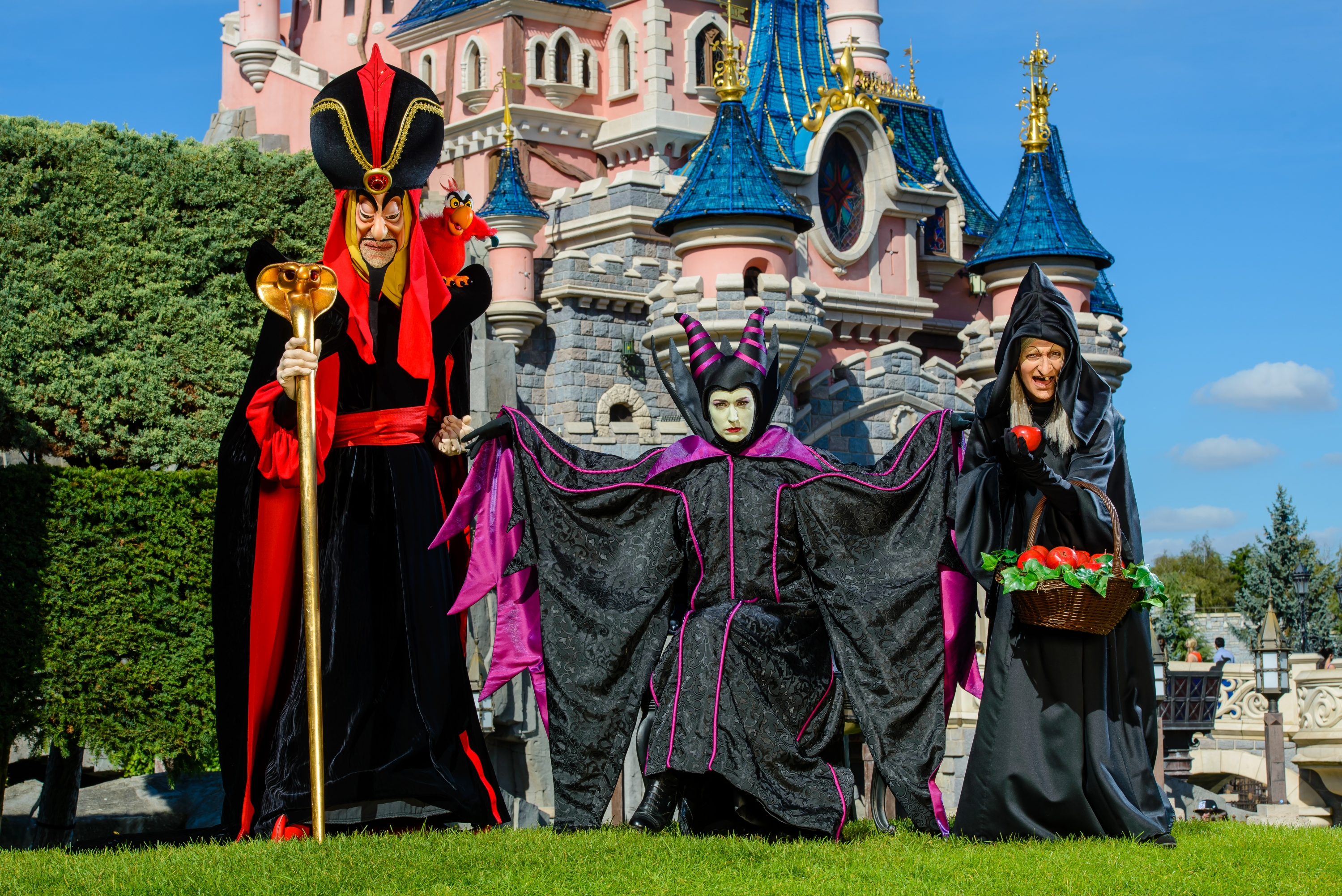 disneyland paris halloween 2017