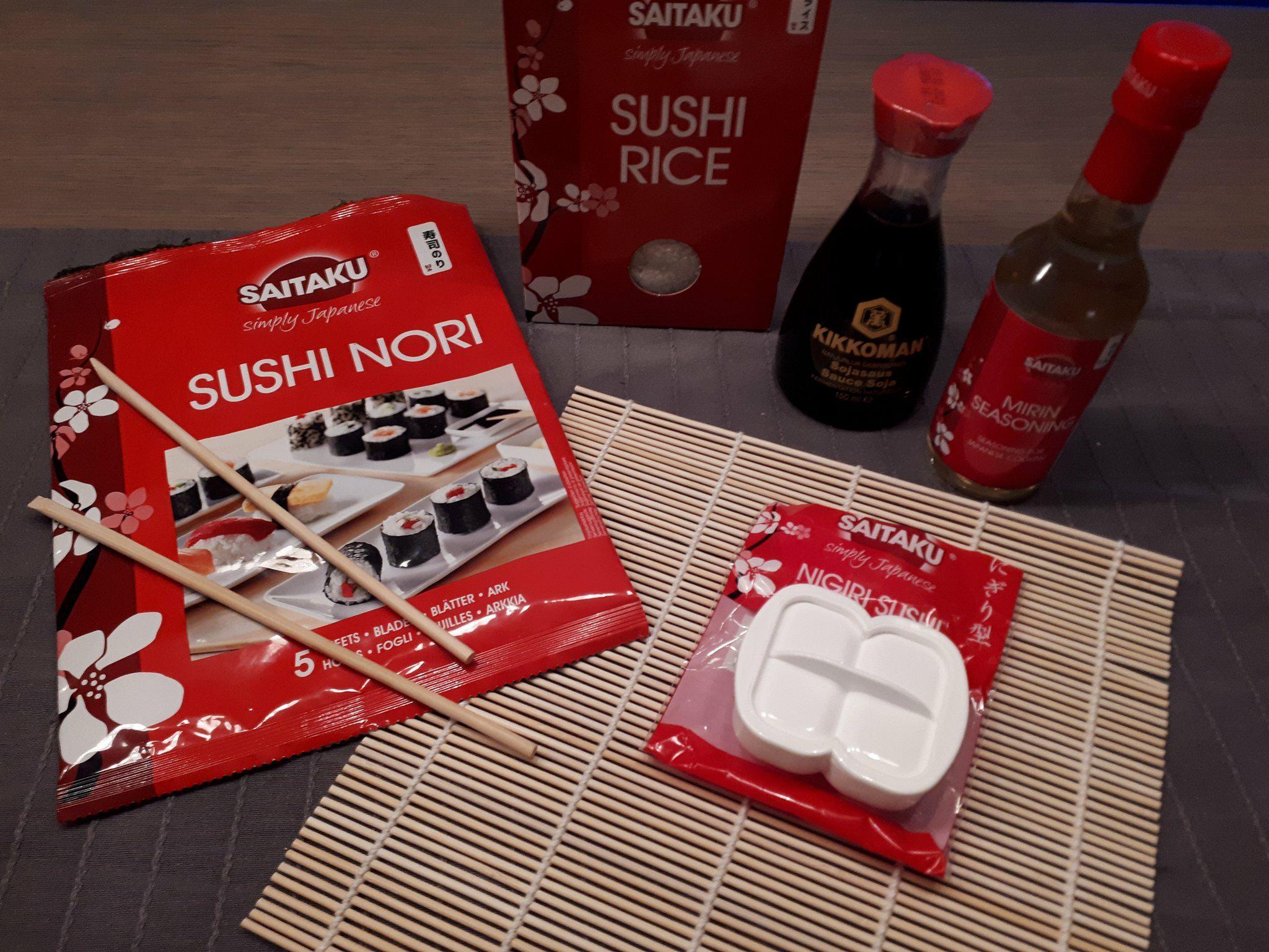 sushi benodigdheden