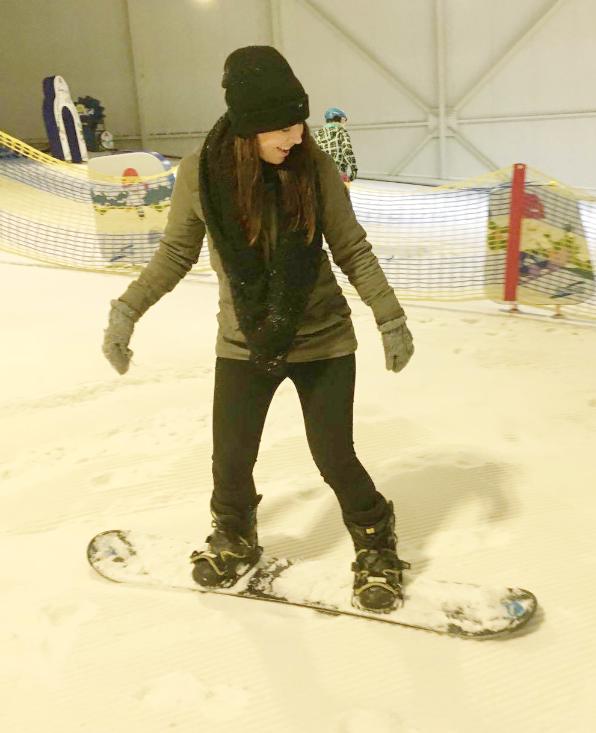 yvonne bierings snowboarden